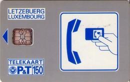 TARJETA TELEFONICA DE LUXEMBURGO. SC02- TIRADA 2000 (SIN NUMERO DE CONTROL - WITHOUT CONTROL NUMBER). (014) - Luxembourg