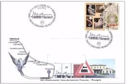 CREMA (CREMONA) - 6 5 2013 COMMEMPRATIVA 150°TRATTA TREVIGLIO-CREMA-CREMONA - Trenes