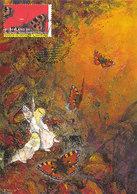 D33201 CARTE MAXIMUM CARD 2007 NETHERLANDS - BUTTERFLY NYMPHALIS POLYCHLOROS - RARE POSTMARK CP ORIGINAL - Butterflies