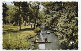 LA VENISE VERTE EN 1961 - N° 55 - LA GRANDE RIGOLE AVEC PECHEUR - BEAU CACHET - FORMAT CPA VOYAGEE - Sonstige Gemeinden