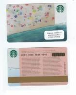 Starbucks Card - Rep. Tchèque/Czech Republic - Beach - 0091 Mint Pin - Gift Cards