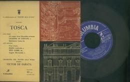 PUCCINI -TOSCA -ORCHESTRA DEL TEATRO ALLA SCALA -VICTOR DE SABATA-DICEMBRE 1959 - Classica