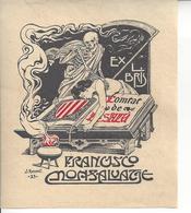 Ex Libris.90mm105mm. - Ex Libris