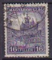 UNGHERIA  1928 SERIE ORDINARIA CATTEDRALE DI ST MATHIAS  YVERT. 386A  USATO VF - Ungheria