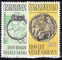 ** Tchécoslovaquie 1963 Mi 1407-8 (Yv 1277-8), (MNH), - Unused Stamps