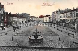 BOULAY BOLCHEN 1912 MARKTPLATZ PLACE DU MARCHE (Colorisée) - Boulay Moselle
