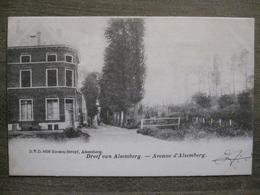 Cpa Alsemberg ( Beersel ) - Dreef Van Alsemberg - Avenue D'Alsemberg - DVD 8656 Roosen Struyf - Beersel