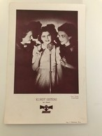 Affichette 29 (18 X 13 Cm) Kordt Sisters Sur Disque Polydor - Singers & Musicians