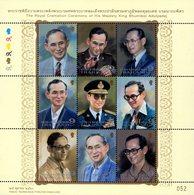 Thailand - 2017 - Royal Cremation Ceremony Of King Bhumibol - Lifelines - Mint Souvenir Sheet - Thailand