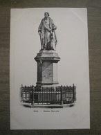 Cpa Hal Halle - Statue Servais - Edition Sencie-Vandormael - Halle
