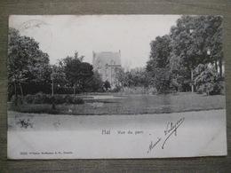 Cpa Hal Halle - Vue Du Parc - 3633 Wilhelm Hoffmann Dresde - 1904 - Halle