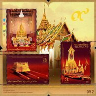 Thailand - 2017 - Royal Cremation Ceremony Of King Bhumibol - The Ceremony - Mint Souvenir Sheet - Thailand