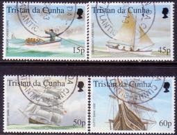 TRISTAN DA CUNHA 2000 SG #678-82 Compl.set+m/s Used The Stamp Show 2000 - Tristan Da Cunha