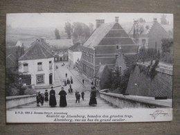 Cpa Alsemberg ( Beersel )- Gezicht Op Alsemberg Beneden Den Grooten Trap - Vue Au Bas Du Grand Escalier - Dvd - Beersel