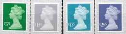 2018 Great Britain Grossbritannien Mi.  Set    **MNH   Elizabeth II - Nuovi