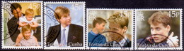 TRISTAN DA CUNHA 2000 SG #683-87 Compl.set+m/s Used 18th Birthday Of Prince William - Tristan Da Cunha