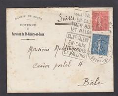 LETTRE DU DIOCESE DE ROUEN,PAROISSE DE ST. VALERY EN CAUX. - France