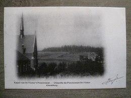 Cpa Ancienne  Alsemberg ( Beersel ) - Kapel Van St Victor's Pensionaat - Chapelle Du Pensionnat St Victor - Beersel