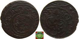 Livonia - Solidus 1653 Of Christina (1632-1654), Swedish Occupation, Offcenter - Latvia