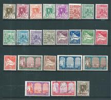 Colonie Timbres D'algérie  De 1926  N°34 A 57 Série Complète   2 Timbres Oblitérés - Argelia (1924-1962)