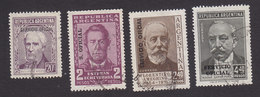 Argentina, Scott #O108-O111, Used, Regular Issues Overprinted, Issued 1957 - Dienstzegels