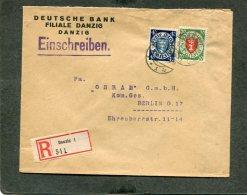 Deutsches Reich Danzig R Brief 1924 - Danzig