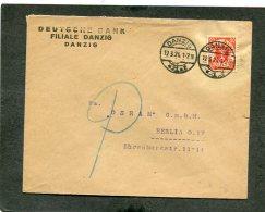 Deutsches Reich Danzig Brief 1924 - Danzig