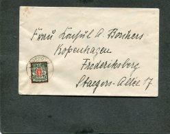 Deutsches Reich Danzig Brief 1922 - Danzig