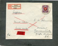 Deutsches Reich Danzig R Brief 1930 (nur Vorseite) Michelnr. 229 - Danzig