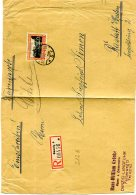 Deutsches Reich Danzig R Brief 1930 (Nur Vorseite) Ef 207 - Danzig