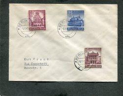 Deutsches Reich 3 FDC's 5-11-1940 Nr. 751-759 - Deutschland