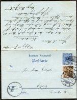 Deutsches Reich Postkarte 1900 F + A P41 - Deutschland