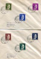 Deutsches Reich Kleine Sammlung 6 FDC's Nr. 781-798 1941 - Deutschland