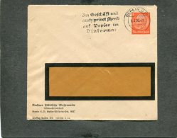 Deutsches Reich Privat Umschlag 1935 - Deutschland