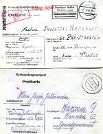 Deutsches Reich POW 4 Briefe Stalach Oflach 40-45 - Deutschland