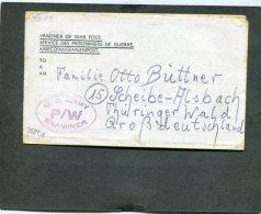 Deutsches Reich POW Brief US Army 1945 - Deutschland