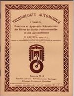 (Cl 2)  Technologie Automobile 1951 40 Pages - Bricolage / Technique