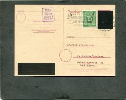 Allierter Besetzung Sowjetische Zone Postkarte 1946 - Sowjetische Zone (SBZ)