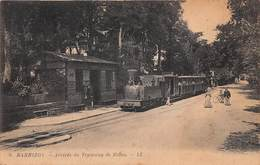 BARBIZON - Arrivée Du Tramway De Melun - Barbizon