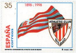 Ref. 83183 * NEW *  - SPAIN . 1998. CENTENARY OF BILBAO ATHLETIC CLUB. CENTENARIO DEL ATHLETIC CLUB DE BILBAO - 1931-Today: 2nd Rep - ... Juan Carlos I