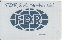 GREECE - F.D.R.(Fifth Dimension Reality), Member Card, Sample - Unclassified