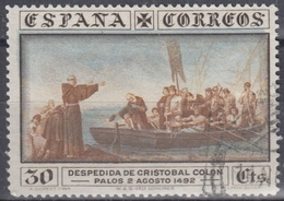 ESPAÑA 1930 Nº 540 USADO - 1889-1931 Kingdom: Alphonse XIII