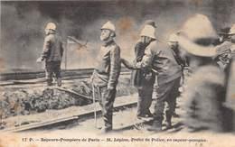 Sapeurs-Pompiers De PARIS - M. LEPINE, Préfet De Police, En Sapeur-pompier - Pompieri