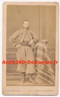 Photo Ancienne CDV Portrait Officier Volontaires De L'Ouest Zouave Pontifical Probablement Monsieur Vérité - Guerre, Militaire