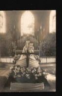 62-014.....CARTE PHOTO SOUVENIR DE NOTRE DAME DE BOULOGNE 1 MARS 1945 - France