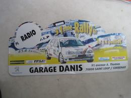 PLAQUE DE RALLYE    31 Eme  RALLYE DU 14 JUILLET - Plaques De Rallye