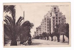 Jolie CPSM, Casablanca, Avenue Poeymirau, Années 1930-1940. A Voyagé - Casablanca