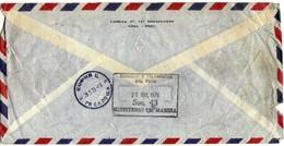 Cover - Bulgaria Embassy In Peru Via Bulgaria 1979.2 Scans - Perù