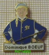JOCKEY DOMINIQUE BOEUF 91  COURSES HIPPIQUES PMU - Badges