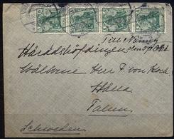 1906 , ALEMANIA , CHARLOTTENBURG - SUECIA , SOBRE CIRCULADO. - Cartas